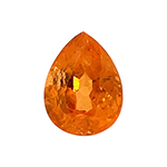 2.30-3.40 Cts of 8.4x6.5x5.1 mm AAA Pear Loose Spessartite ( 1 pc ) Loose Gemstone