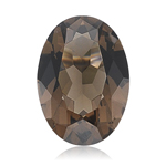 3.03-3.18 Cts of 11x9 mm AAA Oval Smokey Quartz (1 pc) Loose Gemstone