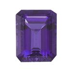 1.65-2.25 Cts of AAA 9x7 mm  Emerald-Cut Amethyst ( 1 pc ) Loose Gemstone