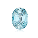 1.30-1.50 Cts of 8x5 mm AA Oval Natural Blue Zircon ( 1 pc ) Loose Gemstone
