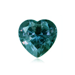 2.20-2.72 Cts of 8 mm AAA Heart Lab created Russian alexandrite ( 1 pc ) Loose Gemstone