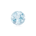 0.70-0.85 Cts of 6 mm A+ Round ( 1 pc ) Loose Aquamarine