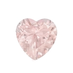 1.40-1.60 Cts of 8 mm AAA Heart Cut Morganite ( 1 pc ) Loose Gemstone