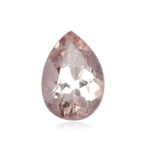 1.70-2.05 Cts of 10x7 mm AA Pear Faceted Morganite ( 1 pc ) Loose Gemstone
