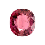 15.50 Cts of 17.4x16.2x8.2 mm SI (Slightly Included) Cushion Cut Rubellite Tourmaline ( 1 pc ) Loose Gemstone