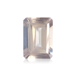 6.30-7.70 Cts of 14x11 mm AA (Slightly Included) Emerald Cut Rose Quartz ( 1 pc ) Loose Gemstone