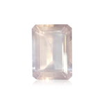11.60-14.18 Cts of 18x13 mm AAA (Slightly Included) Emerald Cut Rose Quartz ( 1 pc ) Loose Gemstone