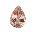 8.75-9.50 Cts of 18x13 mm AAA Pear Cut Morganite ( 1 pc ) Loose Gemstone