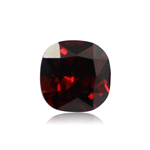 6.10-6.50 Cts of 11 mm AAA Cushion Cut Mozambique Garnet ( 1 pc ) Loose Gemstone