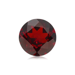 5.50-5.90 Cts of 11 mm AAA Round Cut Mozambique Garnet ( 1 pc ) Loose Gemstone