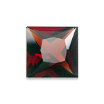 8.75-9.25 Cts of 12 mm AAA Square Princess Cut Mozambique Garnet ( 1 pc ) Loose Gemstone