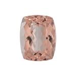 4.00-4.50 Cts of 12x10 mm AAA Cushion Cut Morganite ( 1 pc ) Loose Gemstone