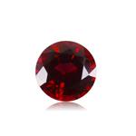 1.75-2.25 Cts of 7 mm AA Round Cut Sabrina Created Ruby ( 1 pc ) Loose Gemstone