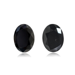 3.12 Cts AAA Oval Brilliant Cut EGL USA Certified Fancy Black ( 2 pcs ) Loose Diamonds