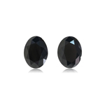 4.65 Cts AAA Oval Cut EGL USA Certified Fancy Black ( 2 pcs ) Loose Diamonds