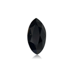 1.22 Cts of 10.00x5.13x3.61 mm EGL USA certified Marquise Brilliant Cut ( 1 pc ) Loose Treated Fancy Black Diamond