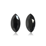 2.81 Cts AAA Marquise Brilliant Cut EGL USA Certified Fancy Black ( 2 pcs ) Loose Diamonds