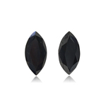 3.04 Cts AAA Marquise Brilliant Cut EGL USA Certified Fancy Black ( 2 pcs ) Loose Diamonds