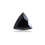 1.00 Cts of 6.99x7.45x3.82 mm EGL USA certified Trillian Modified Brilliant Cut ( 1 pc ) Loose Treated Fancy Black Diamond