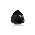 1.63 Cts of 8.07x7.69x4.13 mm EGL USA certified Trillian Modified Brilliant Cut ( 1 pc ) Loose Treated Fancy Black Diamond