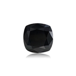 1.16 Cts of 5.93x5.88x4.22 mm EGL USA certified Cushion Brilliant Cut ( 1 pc ) Loose Treated Fancy Black Diamond