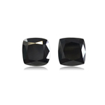2.07 Cts AAA Cushion Cut EGL USA Certified Fancy Black ( 2 pcs ) Loose Diamonds