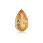 3.41-4.17 Cts of 14.0x9.0 mm AAA Pear Shape Cut Citrine ( 1 pc ) Loose Gemstone