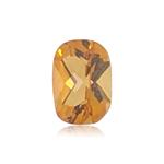 0.73-0.89 Cts of 7.0x5.0 mm AAA Cushion Checker Cut Citrine ( 1 pc ) Loose Gemstone