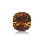 2.48-3.03 Cts of 9.0x9.0 mm AAA Cushion Concave Cut Citrine ( 1 pc ) Loose Gemstone