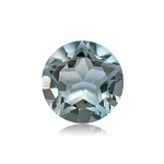 0.97-1.19 Cts of 6.0x6.0 mm AA Round Texas Star Cut Sky Blue Topaz ( 1 pc ) Loose Gemstone