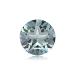 2.21-2.70 Cts of 8.0x8.0 mm AAA Round Texas Star Cut Sky Blue Topaz ( 1 pc ) Loose Gemstone