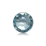 3.38-4.13 Cts of 8.0x8.0 mm AAA Round Cabochon Cut Sky Blue Topaz ( 1 pc ) Loose Gemstone