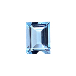2.17-2.65 Cts of 9.0x7.0 mm AAA Baguette Cut Sky Blue Topaz ( 1 pc ) Loose Gemstone