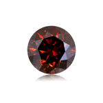 0.99 Cts of 6.22x4.16 mm Round Cut ( 1 pc ) Fancy Loose Brown Diamond