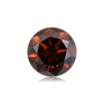 2.01 Cts of 8.0x5.03 mm Round Cut ( 1 pc ) Fancy Loose Brown Diamond