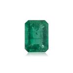 2.19 Cts of 10.0x7.5x4.4 mm AA+ Emerald Cut Natural Brazilian Emerald ( 1 pc ) Loose Gemstone