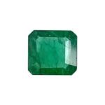 1.55 Cts of 8.60x8.30x3.55 mm AA+ Asscher Cut Natural Brazilian Emerald ( 1 pc ) Loose Gemstone