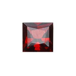 3.71-4.54 Cts of 9x9 mm AAA Square Princess Cut Garnet ( 1 pc ) Loose Gemstone