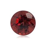 0.74-0.91 Cts of 5.5x5.5 mm AAA Round Garnet ( 1 pc ) Loose Gemstone