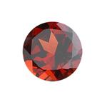 1.58-1.93 Cts of 7.5x7.5 mm AAA Round Garnet ( 1 pc ) Loose Gemstone