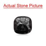 4.01 Cts of 9.10x9.18x4.67 mm GIA Certified AAA Cushion ( 1 pc ) Loose Black Diamond