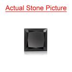 1.19 Cts of 6.01x6.01x3.49 mm GIA Certified AAA Princess Cut ( 1 pc ) Loose Black Diamond