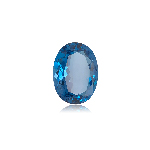 25.43 Cts of 21.50x16.40x9.40 mm AAA Oval ( 1 pc ) Loose Swiss Blue Topaz
