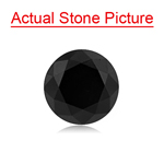 2.39 Cts AAA Round Fancy Black ( 2 pcs ) Loose Black Diamonds