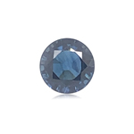 1.99 Cts of 7.00x7.06x4.71 mm AAA Round GIA Certified Untreated Blue Sapphire ( 1 pc ) Loose Gemstone