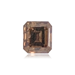 0.34 Cts of 3.50x3.90x2.80 mm AAA Princess Cut (1 pc) Loose Fancy Brown Diamond