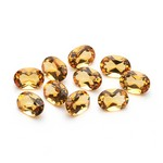 3.50-4.30 Cts of 6x4 mm AAA Oval Citrine ( 10 pcs ) Loose Gemstone