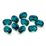4.70-7.00 Cts of 6x4 mm AAA Oval Lab Created Russian Alexandrite ( 10 pcs ) Loose Gemstones