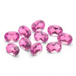 4.40-6.80 Cts of 6x4 mm AAA Oval Pink Topaz (10 pcs ) Loose Gemstones