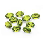 4.40-5.40 Cts of 6x4 mm AAA Oval Peridot ( 10 pcs ) Loose Gemstones